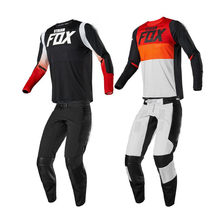Nuevo 2020 corriente fox Motocross Jersey Set ATV Motocross Gear Set Top de la bici de la suciedad de mx traje(China)