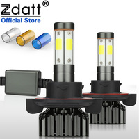 Zdatt 4 Sides 12000Lm Led Canbus H13 9008 LED Bulb 100W Headlight 3000K 6000K 8000K Car Lights 12V 24V COB