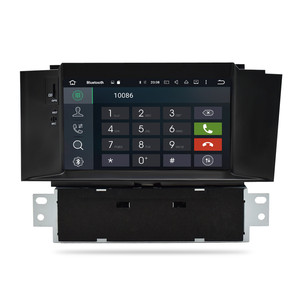 Image 4 - Autoradio multimédia android 10.0, IPS, 4 go RAM, DVD, Navigation GPS, WIFI, lecteur stéréo, unité centrale pour voiture citroën C4, C4L, DS4 (2011 2016)
