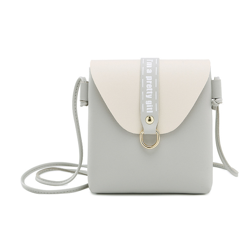 WOMEN'S Bag Shoulder Matching Color Women's Purse 2018 Spring And Summer Creative New Style Sweet Ladies' Shoulder Mobile Phone