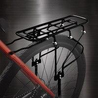 NAAIT Fiets Achter Rack Staal Carrier Zadelpen Mount 16 26 Inch Achter Plank voor Mountainbike Volwassen Kinderen-in Fietsrek van sport & Entertainment op