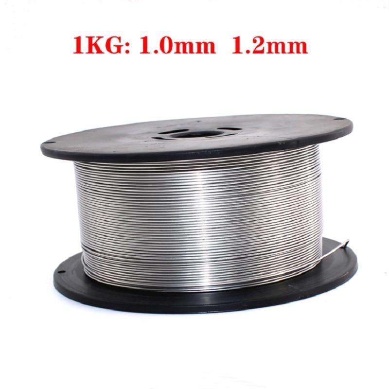 Flux Core Wire Self-shielded No Gas Mig Wire 1kg Iron Welding 0.8 1.0 1.2mm Carbon Steel Flux Core Wire Mig Welding Gasless Wire