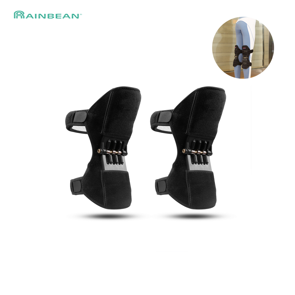 Joint Support Knee Pad Breathable Non-slip Lift Pain Relief For Knee Power Spring Force Stabilizer Knee Booster For Elder