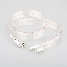 SR 02 RCA de haute qualité avec câble dinterconnexion de prise RCA plaqué argent