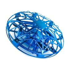 цена на Kids Mini RC Drone UFO Sensor Gyro Toy Induction Lighting Toys Gift Gyro Fly Ball Smart Pocket Induction safe Toys