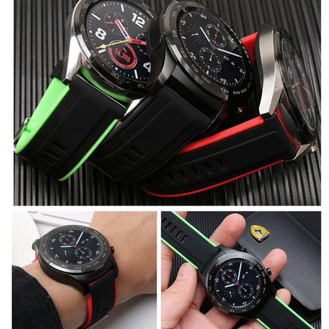 Купить ремешок силиконовый для huawei watch gt/gt 2 46 мм браслет смарт картинки цена