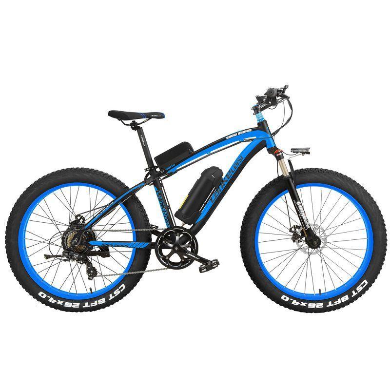 "XF4000 LANKELEISI 26"" 1000w 48v 16AH Panasoni'c Battery electric bike 3"