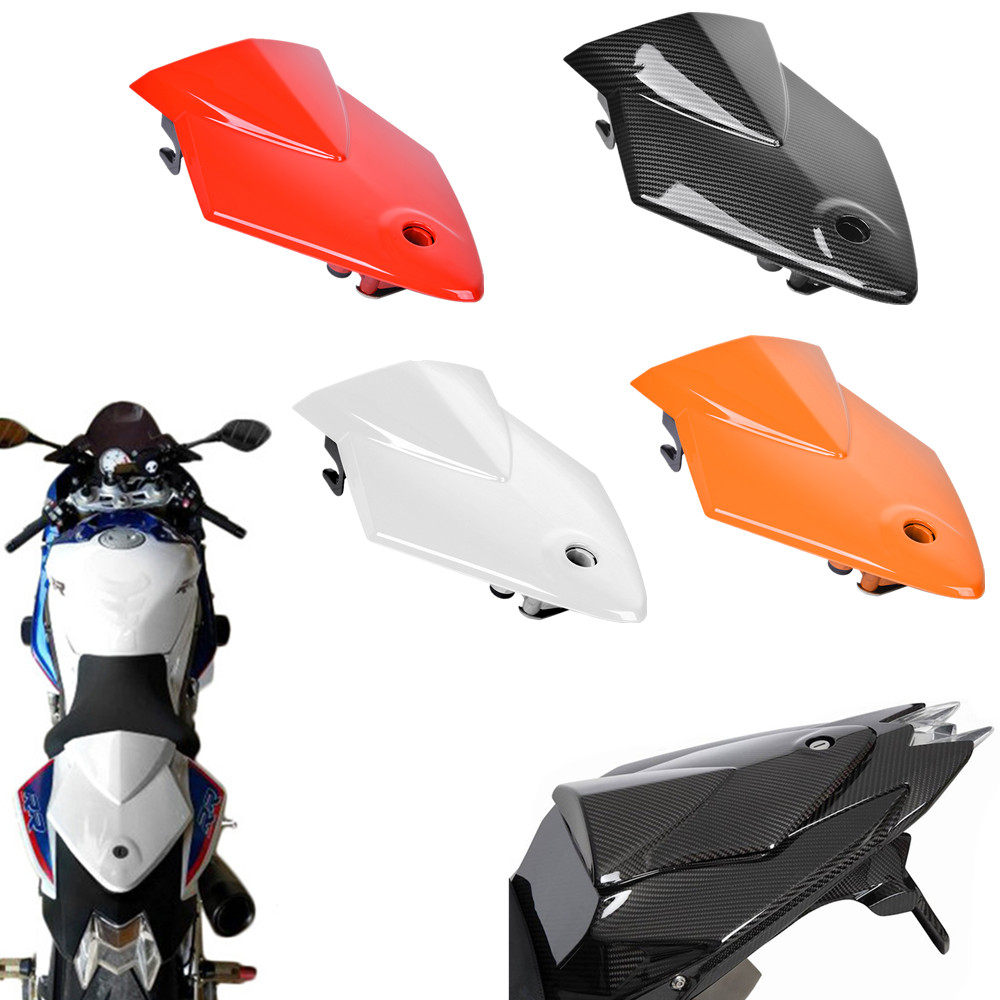 S 1000 RR Motorcycle Pillion Passenger Rear Seat Cowl Cover For BMW S1000RR 2009 2010 2011 2012 2013 2014 Red White Carbon Orang