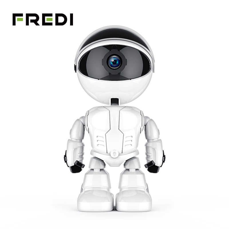 Fredi 1080P Cloud Home Security Ip Camera Robot Intelligent Auto Tracking Camera Draadloze Wifi Cctv Camera Surveillance Camera