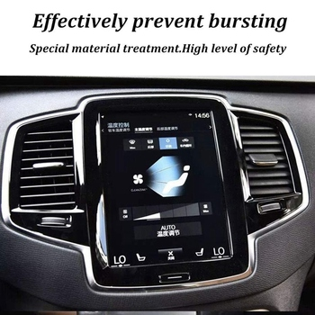 8.7 Inch Car Center GPS Navigation Sn Protector Tempered Glass Film for Volvo XC60 XC90 S90 2015-2018 image