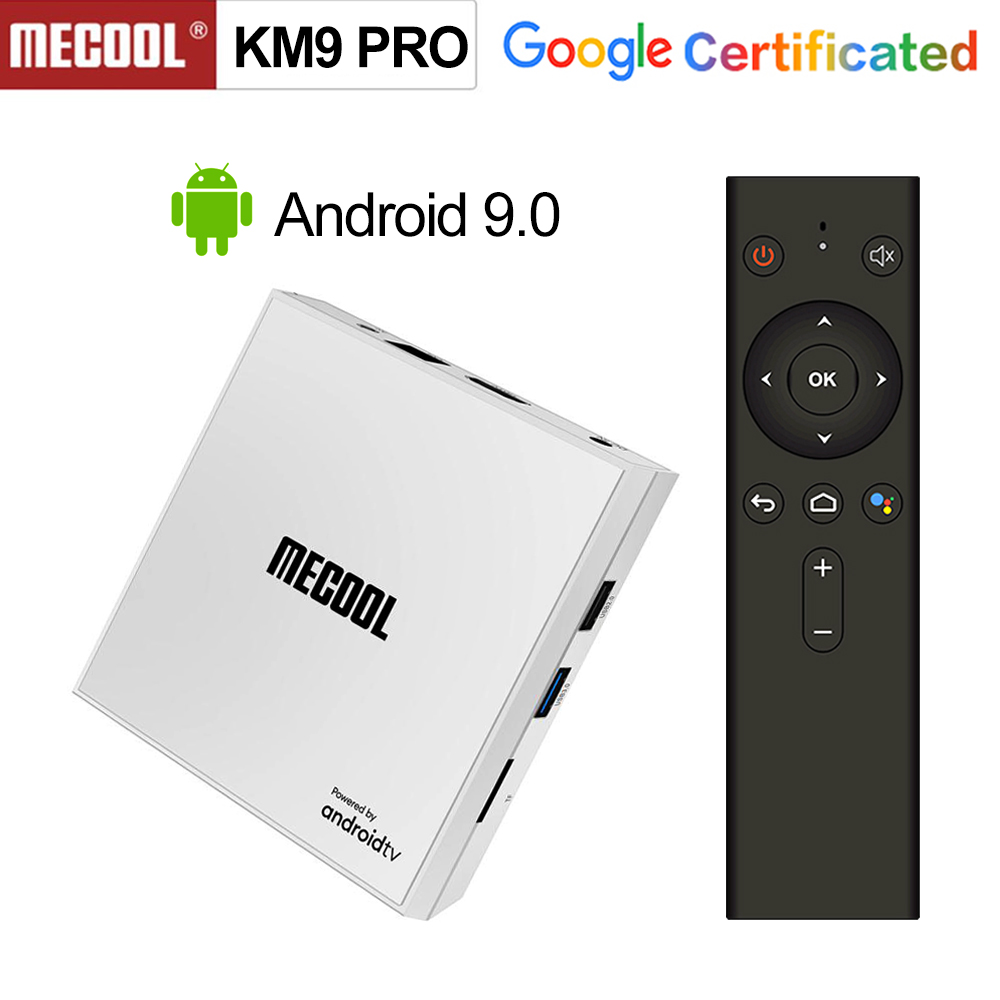 Androidtv 9.0 Google Certified <font><b>KM9</b></font> PRO 4GB 32GB <font><b>Android</b></font> 9.0 <font><b>TV</b></font> <font><b>Box</b></font> Amlogic <font><b>S905X2</b></font> Voice Input Control Youtube 4K BT4 Set Top <font><b>Box</b></font> image