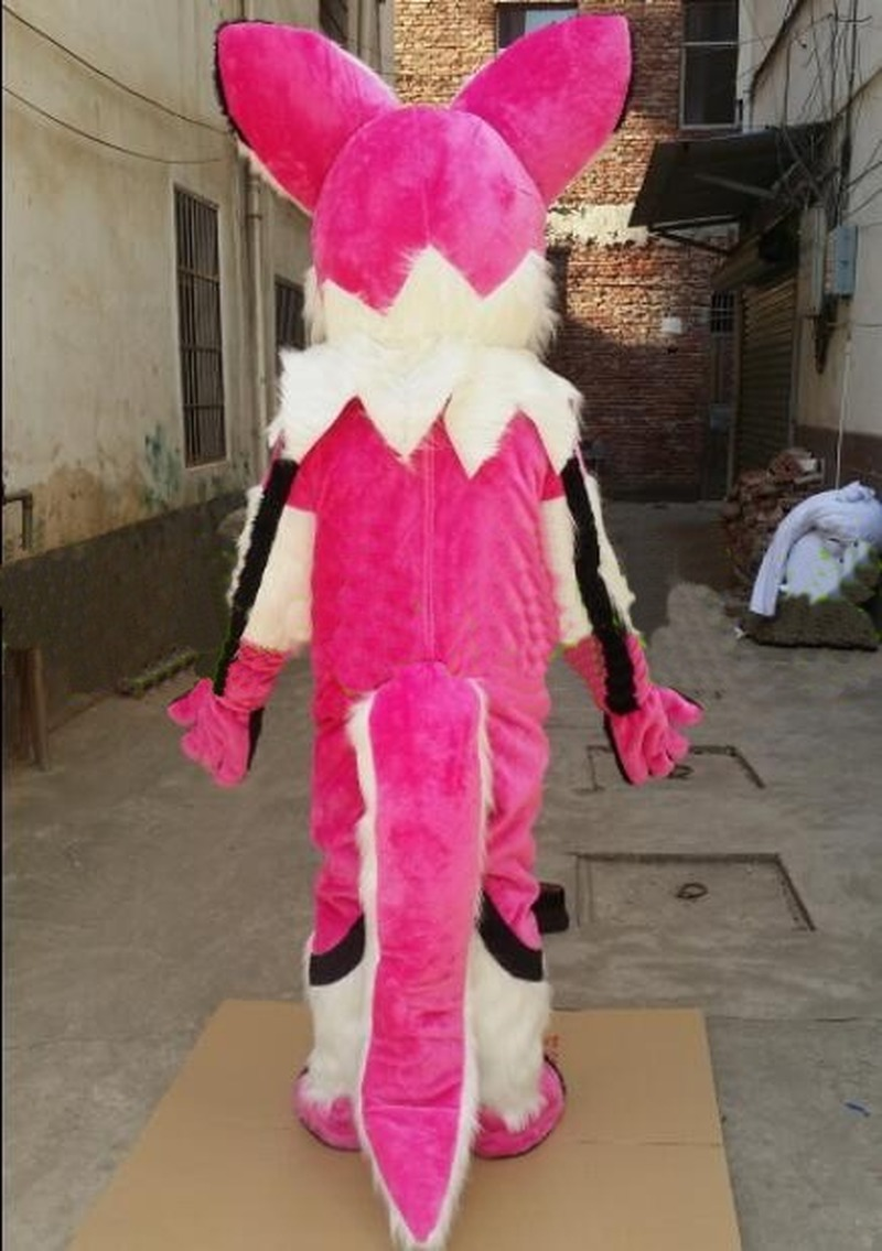 Adult Fox Dog Mascot Costume Fursuit Suits Party Game Dress Outfits Clothing Advertising Promotion Cosplay Hallowen Gift Unisex