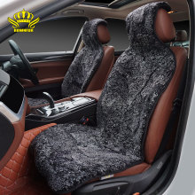 Car-Seat-Covers ROWNFUR Automobiles-Interior-Accessories Sheepskin Universal Curly