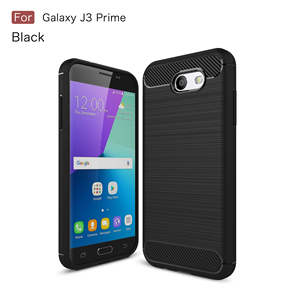 Phone-Case Carbon-Fiber Samsung Galaxy Core-Plus Full-Protection 360 for A2 A3 A5 A6