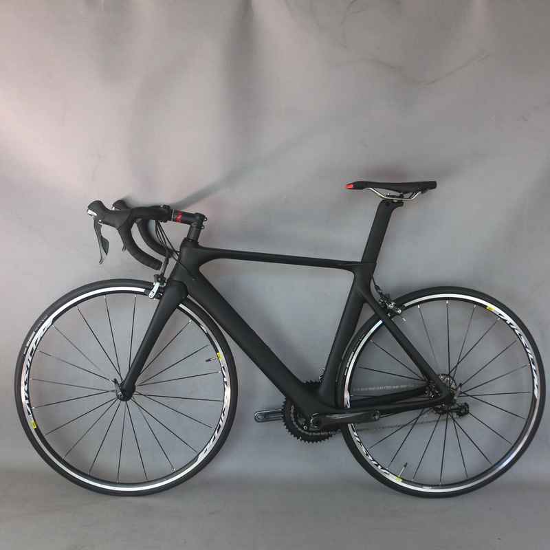 2019 Aero design complete font b bike b font FM268 Carbon Fiber 700c BSA Bottom bracket