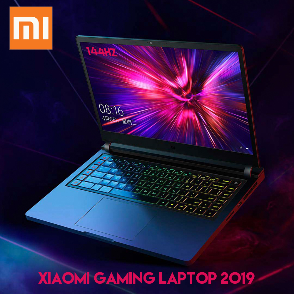 Xiaomi Gaming Laptop 2019 Windows 10 Intel Core I7 9750H RTX 2060 16GB RAM 512GB SSD HDMI Notebook PC Bluetooth