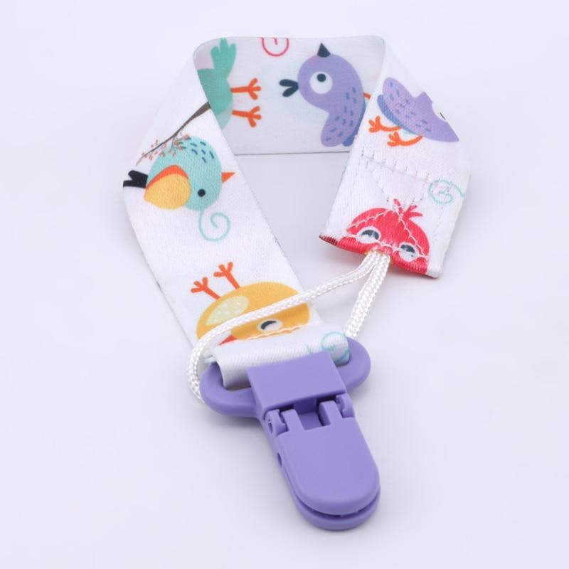 3 шт./компл., детская пустышка с зажимом, цепочка, пустышка, ниппель для клипа, держатель для детской пустышки с мультяшным принтом 4