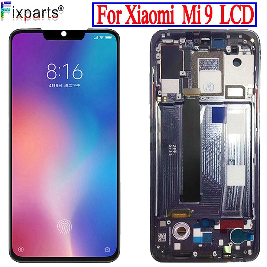 TFT For <font><b>xiaomi</b></font> Mi 9 <font><b>Mi9</b></font> LCD <font><b>Display</b></font> 6.39'' For <font><b>xiaomi</b></font> Mi 9 LCD Screen Touch Screen Digitizer Assembly +tools image