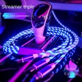 Стример три в одном», кабель для передачи данных мягкое свечение светодиодного светильник «Три в одном» комбинированные весы с отделкой дл...