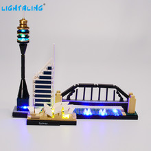 Lightaling Led Light Kit For Architecture Sydney Toys Building Blocks Compatible With 21032 10676 ( Lighting Set Only )