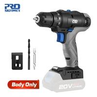 20 220vミニ電気ドリルドライバーコードレス35NMドライバー家庭用diy本体のみ裸ツールによるprostormer