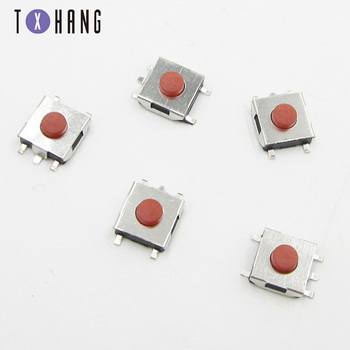 100PCS/Lot Tactile Push Button Switch 2 pins 6*6*5 mm Key Switches 6x6x5mm Micro Switch diy electronics image