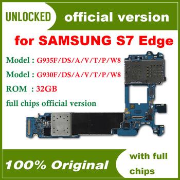 100 testowane dla Samsung Galaxy S7 krawędzi G935F G935FD więcej modelu płyty głównej odblokowany dla S7 krawędzi układów logicznych tanie i dobre opinie HHXHH Wewnętrzny For Samsung Galaxy S7 motherboard Original Disassemble Unlocked Used Europe Version 4G Network 32GB