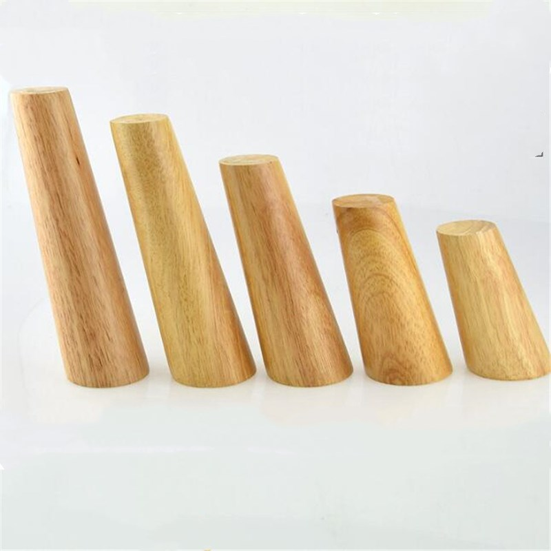 Table Legs 1 Piece Wooden Furniture Legs Solid Wood Chair Sofa TeaTable Cabinet Kitchen Furniture Foot
