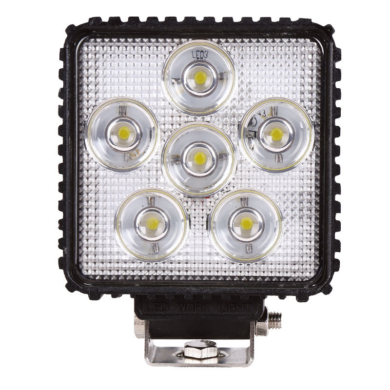 Factory Direct For 18 W LED Work Light Truck Mining Equipment Poly Floodlight Lighting Headlamps Work