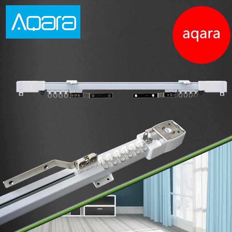 Original Aqara Curtain Motor Or Rail Zigbee Wifi Version,work With Mi Home App For Xiaomi Smart Home Silent Curtain Track