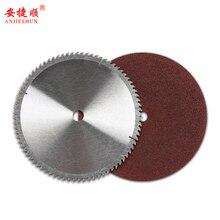 цена на 355 profile cutting machine saw blade An Jieshun cutting machine special saw blade wood saw blade grinding wheel blade