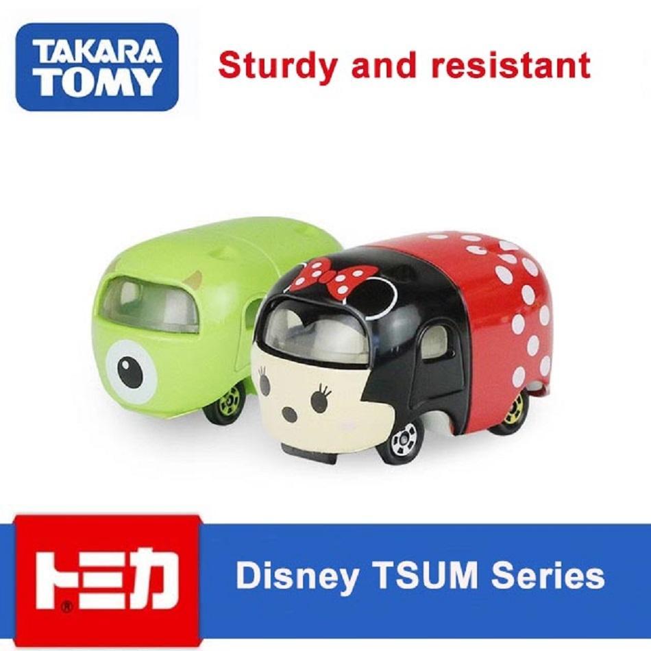 Latest Genuine Takara Tomy Disney TSUM Series Car Alloy Car Model Diecast Metal Model Car Limited Edition Style Children Gift