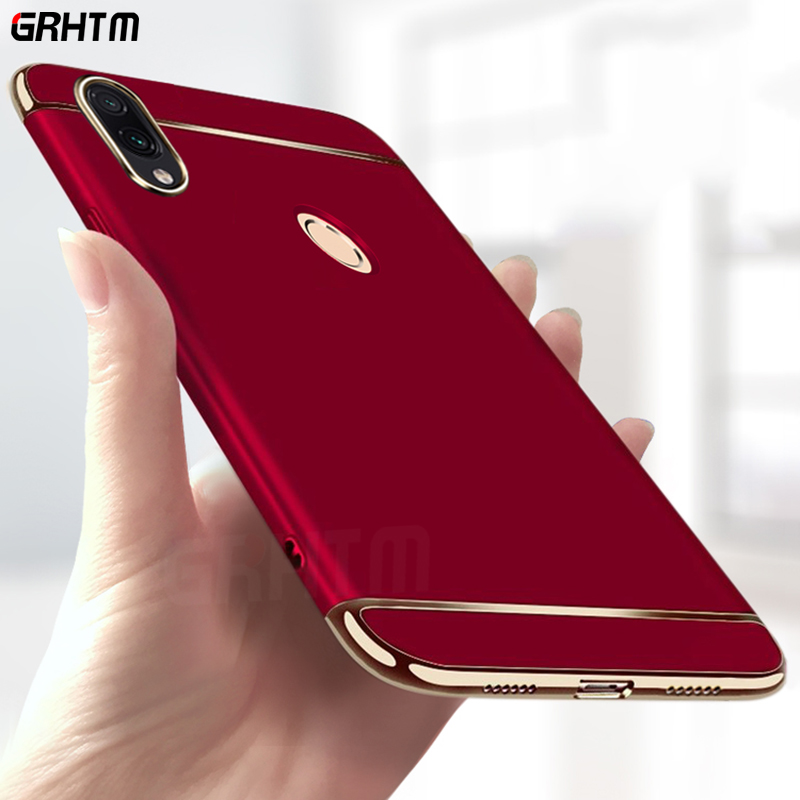 Luxury Plating Case For Xiaomi Redmi 7 4X 4A Note 6 Pro Hard Back Cover Case For Redmi Note 7 Pro Redmi S2 6A 6 Pro Phone Case(China)