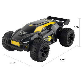 JJRC-Q88 4WD RC Car 1:22 15km/h High-speed Racing 2.4G Off-road Outdoor Remote Control Car Climbing Car Children Toy With Light 6