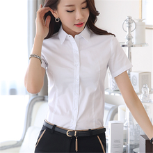 Women Shirts Elegant Women Cotton Blouses Shirt