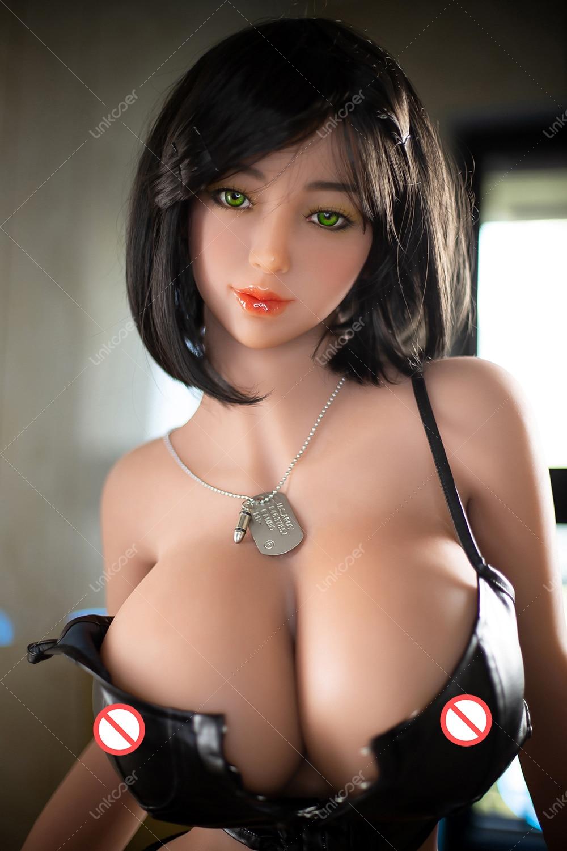 H309effee65f3487aae4d87d8a5589533B Linkooer 153cm TPE muñeca del sexo pechos grandes culo gordo Robot muñeca Anal vaginal Oral de la belleza caliente adulto Lifesize de silicona muñeca