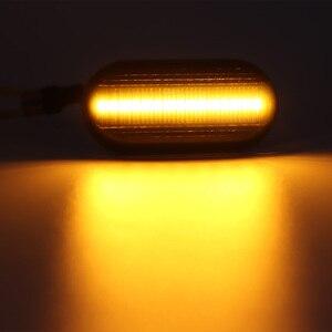 Image 5 - 2Pcs/Lot LED Dynamic Turn Signal Side Marker Lamp For Dacia Duster Dokker Lodgy Renault Megane 1 Clio1 2 KANGOO ESPACE Smart