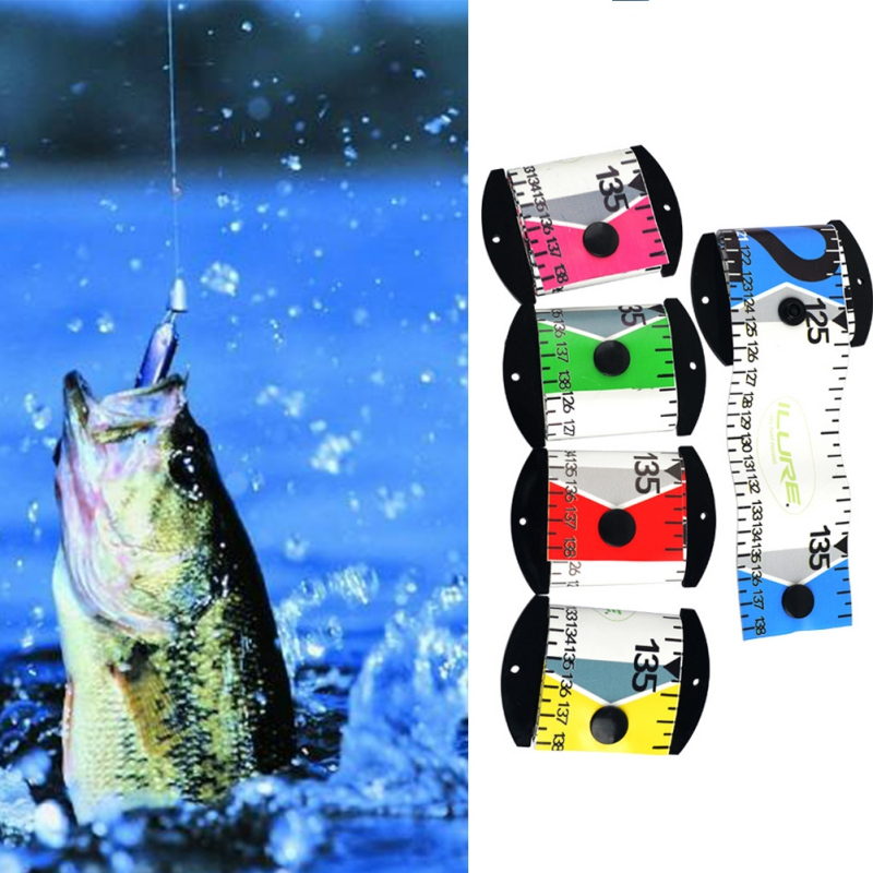 138cm X 5cm Waterproof Fish Measuring Ruler Accurate Fish Measuring Tape PVC Plastic Fishing Ruler Measurement Tackle Tool