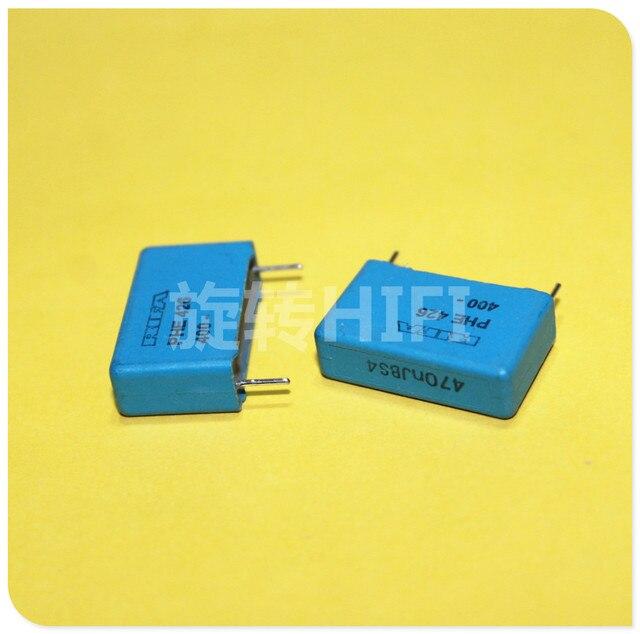 6PCS RIFA PHE426 0.47UF 400V P22.5MM MKP 474/400V audio blue film Capacitor 426 470NF 470nf/400v 474 400VDC