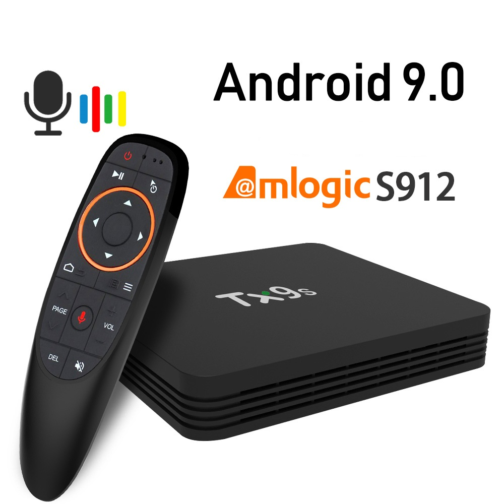 Android 9.0 TX9s TV Box 2GB 8GB Set Top Box 2.4G Wifi 4K Netflix Youtube Assistant Media player Free Apps Very Fast top Box(China)