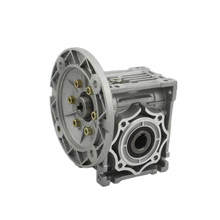 RV40-15 Worm Gear Aluminium Alloy Motor Reducer High Quality Hollow Shaft Worm Gearbox  Flange 63B14 high quality aluminum alloy no flange 64teeth htd8m pulley