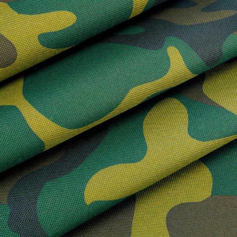 Gruby 0.35mm kamuflaż plandeki przeciwdeszczowe tkaniny namiot na zewnątrz wodoodporna cerata Oxford tkaniny wiata samochodowa pokrywa przeciwdeszczowa żagiel