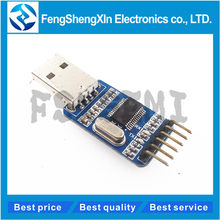 Pl2303 usb para rs232 ttl conversor módulo adaptador com capa à prova de poeira pl2303hx para arduino
