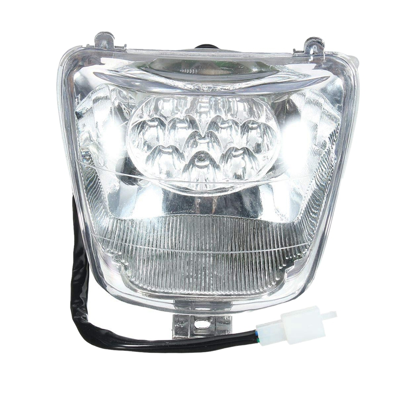 Atv Front Light Headlight For 50Cc 70Cc 90Cc 110Cc 125Cc Mini Atv Quad Bike Buggy Atv Accessories