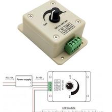 12V LED Dimmer Voltage-Regulator Power-Supply Speed-Controller Adjustable DC-DC 8A