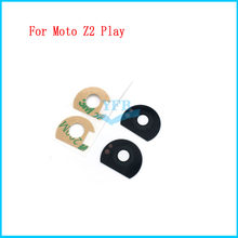 10pcs For Motorola Moto Z2 Play Camera Glass Lens Rear Back Cover with Adhesive Sticker Replacement Spare Parts(China)