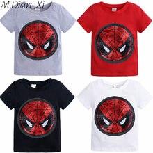 Vêtements pour enfants T-Shirt filles garçons T-Shirt 1pic enfants magique Sequin Transformable motif coton décontracté T-Shirt haut pour enfants T-Shirt