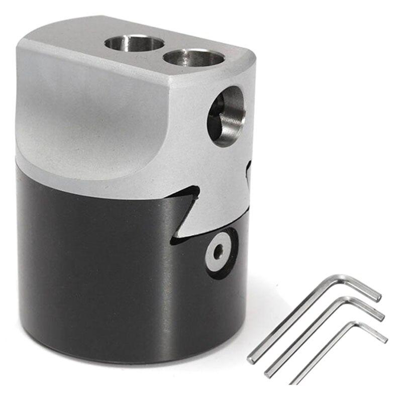 1Pcs F1 18 3Inch 75Mm Boring Head Mini Graduation 0.01Mm For Cnc Center Milling Cutter    - title=