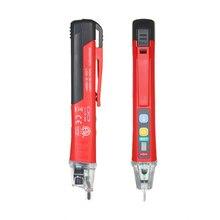 UNI-T портативный бесконтактный Тестер Напряжения переменного тока в форме ручки V~ детектор сигналов тревоги со звуком и светильник и светодиодный светильник-вспышка