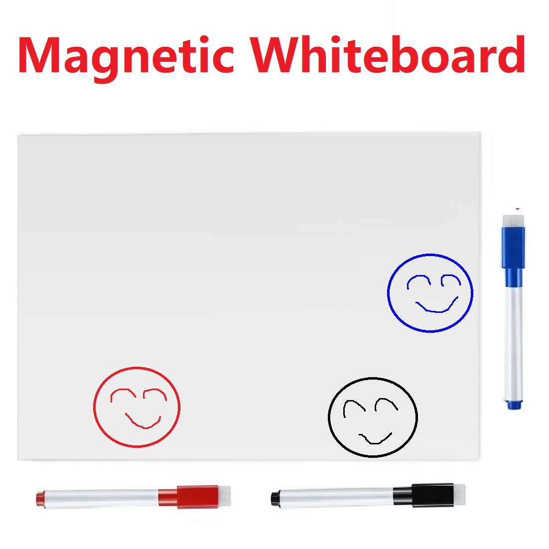 Dry-erase Magnetic Whiteboard For Fridge Sticker Refrigerator Magnets White Board Markers Eraser Home Office Magnet Board Decor